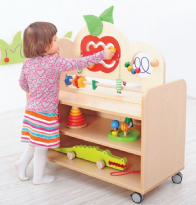 Mobile Flexi Cabinet with Manipulative Top